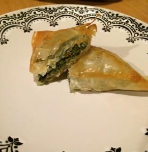 Pateuri cu spanac şi brânză2